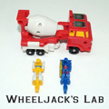 G1 Targetmaster Quickmix with Boomer & Ricochet
